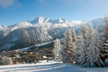 Courchevel 1850 3 Valleys ski area French Alps France