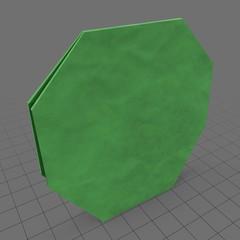 Origami bush