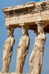 Keuken foto achterwand Athene The Porch of the Caryatids, Erechtheion, Acropolis in Athens, Greece