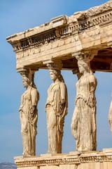 Printed kitchen splashbacks Athens The Porch of the Caryatids, Erechtheion, Acropolis in Athens, Greece