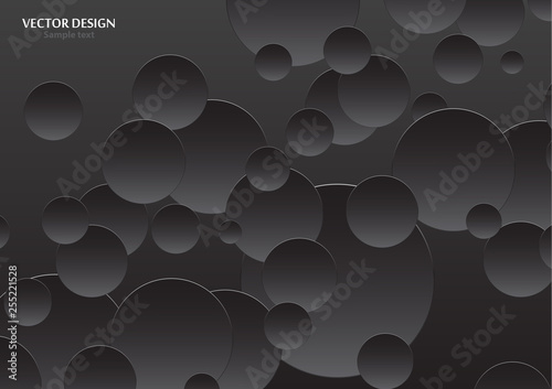 Abstract luxury dark gray and black gradient with background black
