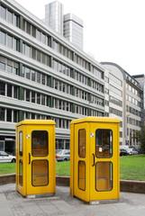 Telefonzelle, Telfonhäuschen, Deutschland 0451