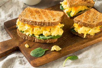 Hearty Homemade Egg Breakfast Sandwich