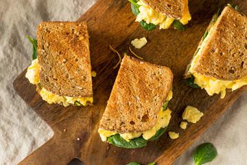 Hearty Homemade Egg Breakfast Sandwich