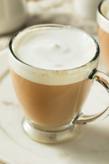 Hot London Fog Tea Drink