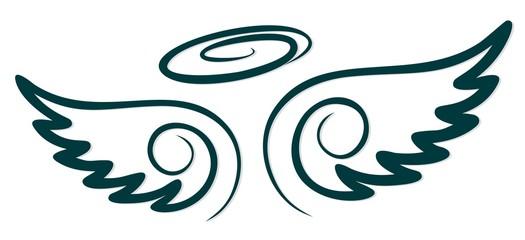 Symbol of wings.