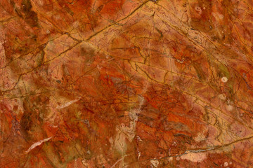 """Real natural """" Rosso Damasco """"  texture pattern."""