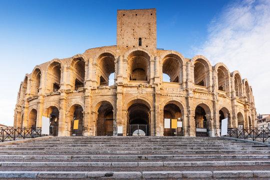 Arles, France. Roman amphitheater.