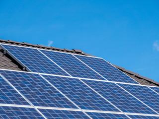 Solaranlage auf einem Eigenheim