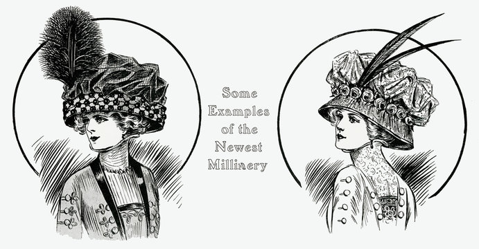 Examples of the Newest Millery 1909