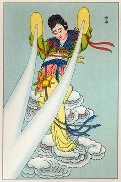 Tien Mou, Lightning God