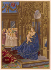 Mary in a Church
