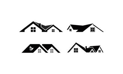 home set logo template