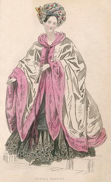 Opera Dress with Turban