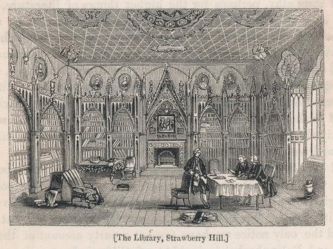 Walpole Straw Library