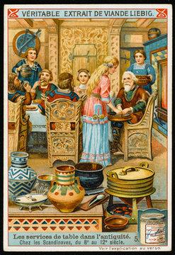 Norsemen at Banquet