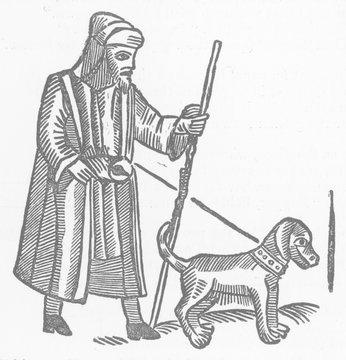 Blind Beggar and Dog