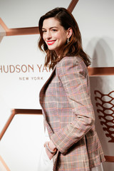 Hathaway attends The Shops & Restaurants at Hudson Yards VIP Grand Opening Event in New York City, New York
