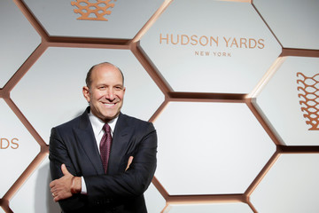 Lutnick, Chairman and CEO of BGC Partners attends The Shops & Restaurants at Hudson Yards VIP Grand Opening Event in New York City, New York