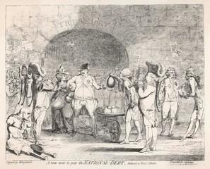 George Iv 1786 Cartoon