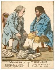 1798 Cartoon whig Club