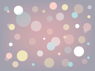 pink bubble dots