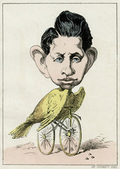 Louis Napoleon Bird Bike