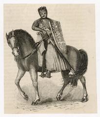 King Edward I Horse