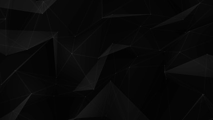 Dark Triangles Web Abstract Background