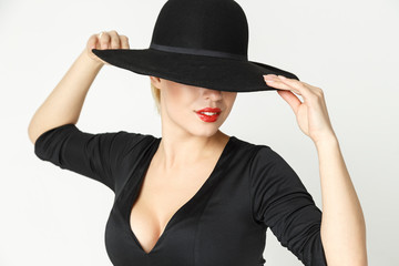 fatal girl in a hat