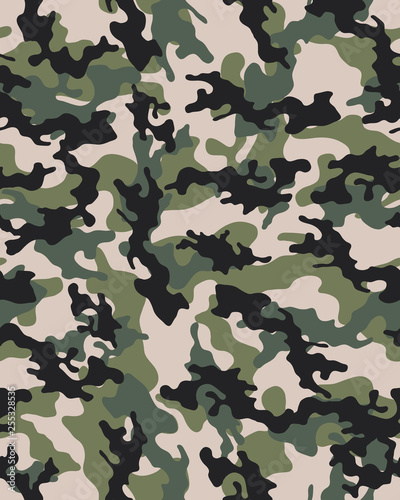 graphic relating to Camo Printable Paper identify Camouflage habit.Seamless armed service wallpaper.Armed service style and design