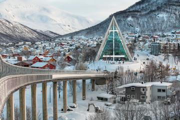 Norwegen Tromso Eisbergkathedrale