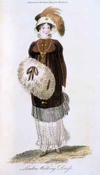 Walking Dress 1805