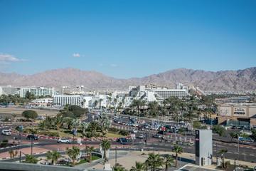 Eilat panorama miasta