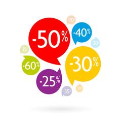 Bulles pourcentage