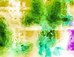Watercolor  Beautiful. painted Surface design banners. abstract shape  and have copy space for text. background texture wall