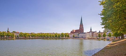 Schwerin Dom Altstadt Panorama