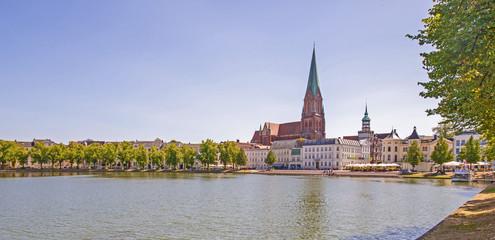 Schwerin Blick auf Altstadt