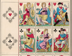 French Revolution Cards