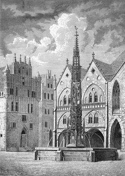 German Medieval M Place