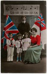 Family Patriotic 20th Century