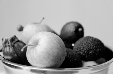 Fototapeta Warzywa i owoce razem obraz
