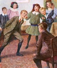 Children Bob Apple C1890