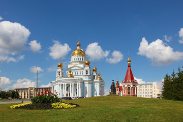The Cathedral of St. Theodore Ushakov in Saransk, Russia