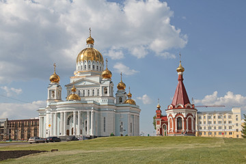 View at the Cathedral of St. Theodore Ushakov and chapel