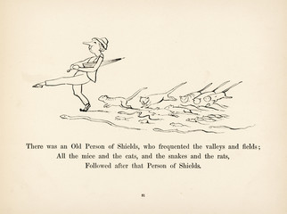 Old Man of Shields, Edward Lear