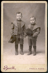 Costume Boys Photo 1890s