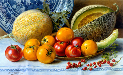 Melons and Tomatoes