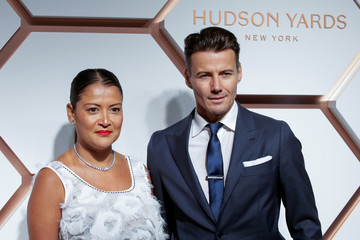 Keytt and Lundqvist attend The Shops & Restaurants at Hudson Yards VIP Grand Opening Event in New York City, New York