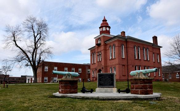 Historic Old Town Manassas, Virginia.